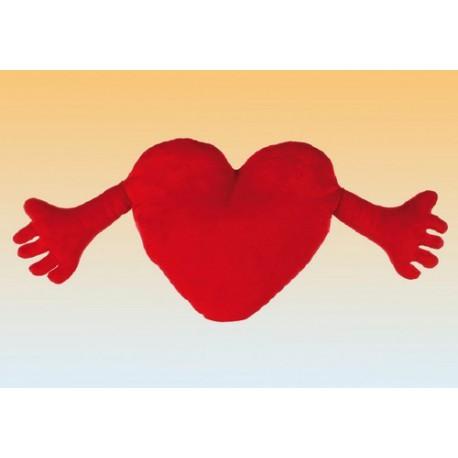 corazon con brazos
